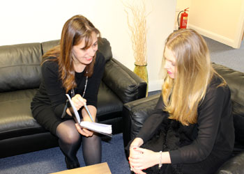 Interview at Zebra Marketing & Communications Office in Wrexham