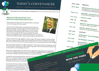 Today's Conveyancer brochure