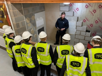 Promoting the importance of apprentices for The Forshaw Group